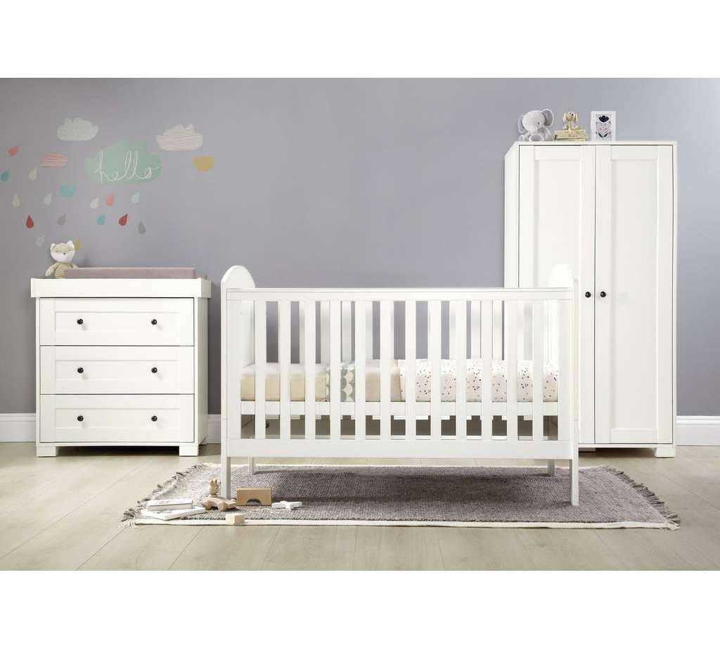 Mamas And Papas Harrow 3 Piece Nursery Furniture Set With