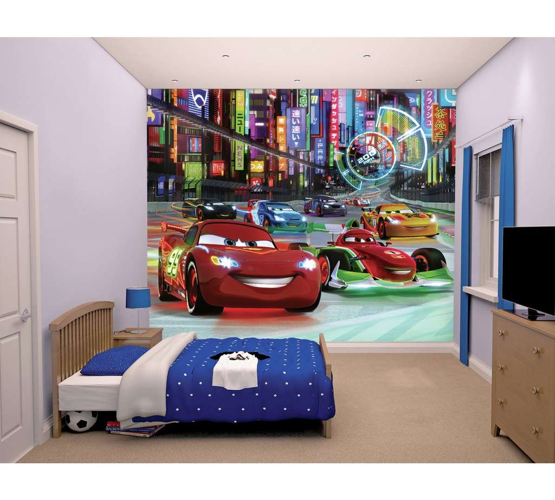 walltastic disney cars wall mural 5 at argos with emmas. Black Bedroom Furniture Sets. Home Design Ideas