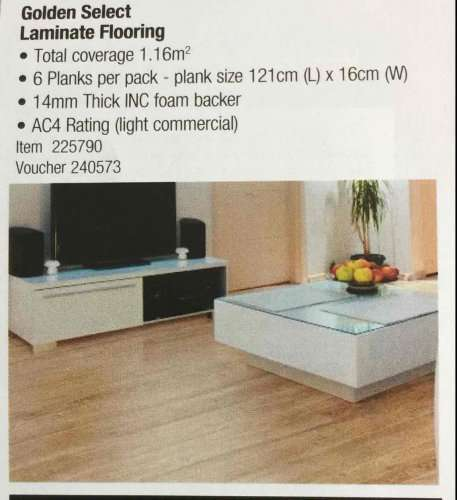 Golden Select Laminate Flooring Costco 14 38 For 1 16m Sq Hotukdeals