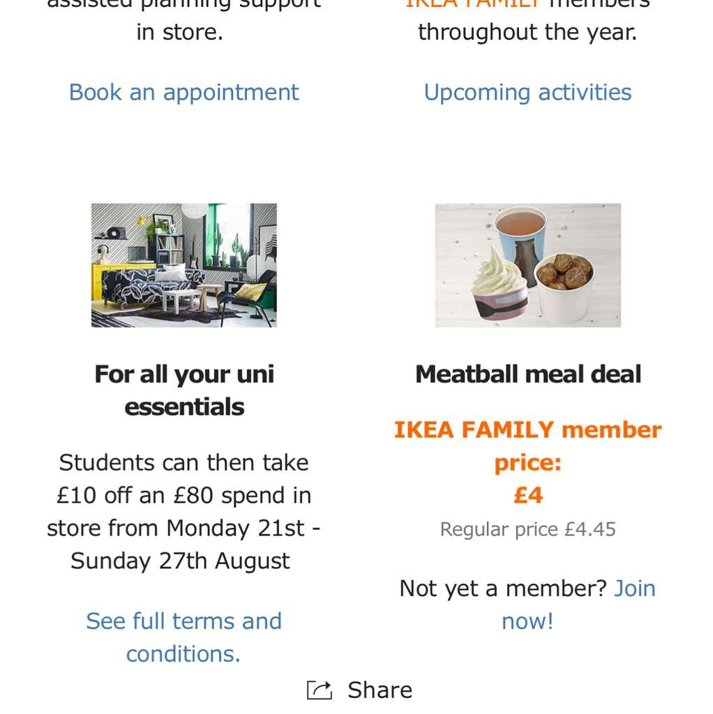 IKEA Birmingham  Coventry and Wednesbury Student Offer   10 off an  80  spend  Valid Monday 21st August to Sunday 27th August    HotUKDeals. IKEA Birmingham  Coventry and Wednesbury Student Offer   10 off an
