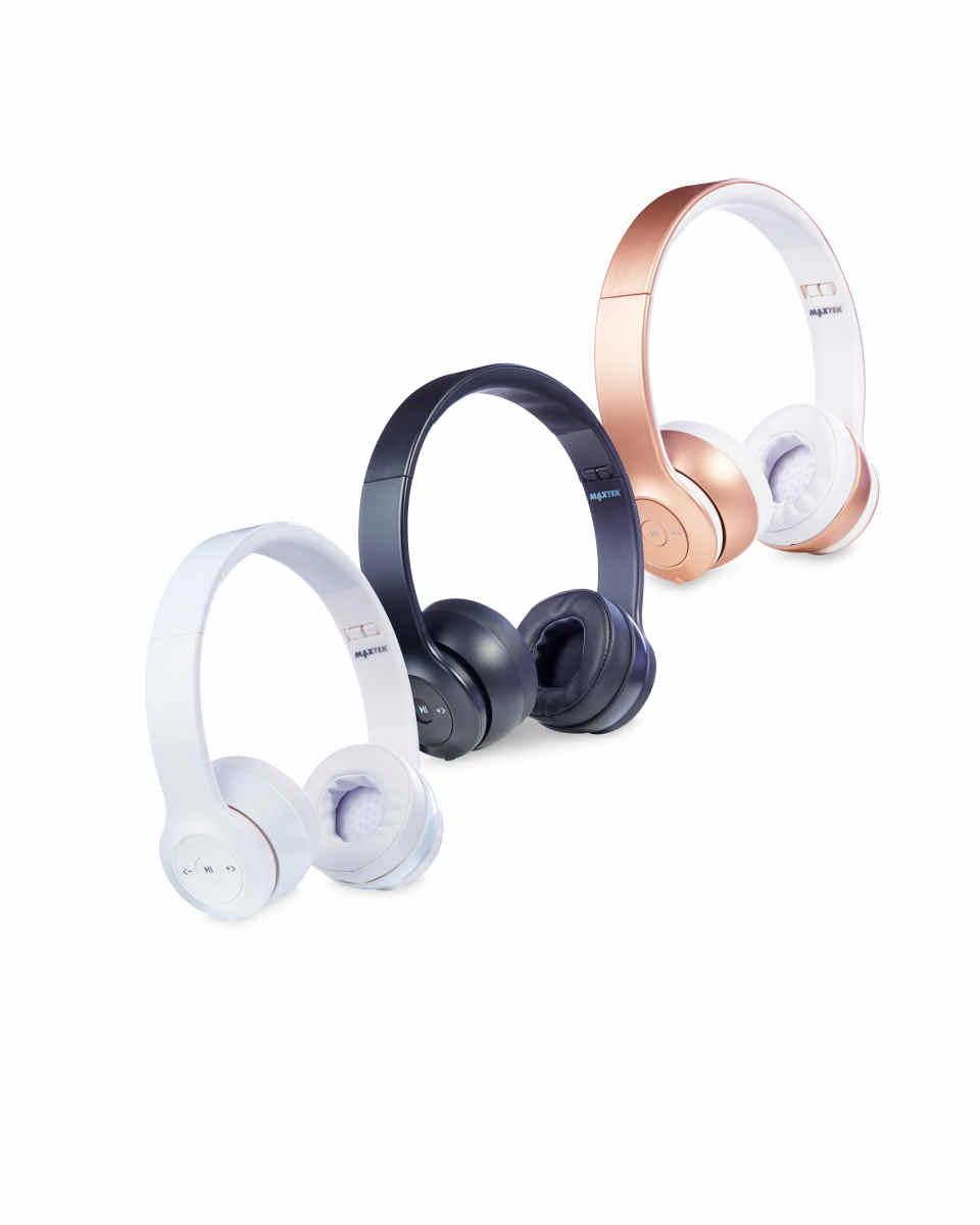 1a8350380ad Maxtek Wireless Headphones (3 colours to choose from) @ Aldi - £16.99 - Deal  Starts Sun 27/08 - hotukdeals