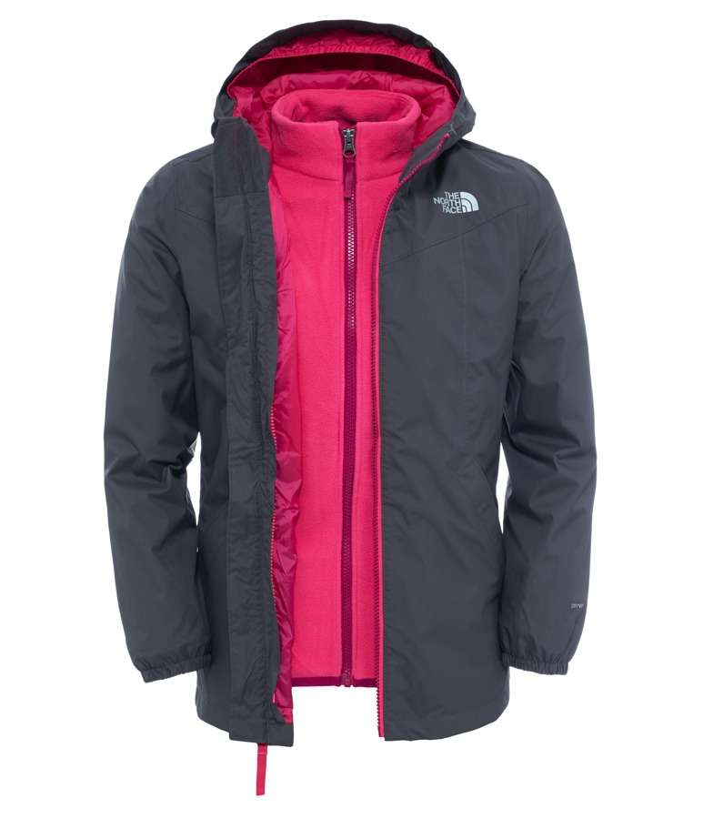 ... Girls NORTH FACE Eliana Rain Triclimate Jacket - Graphite Grey £48.94  (Free CC) The North Face Mens ... a40295b2c