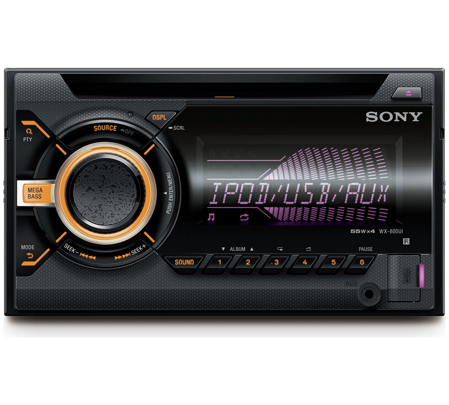Double DIN Car Stereo Sony £54.99 @ Argos