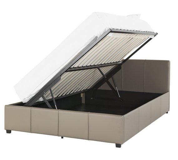 hygena hendry kingsize side opening ottoman bed save 110. Black Bedroom Furniture Sets. Home Design Ideas