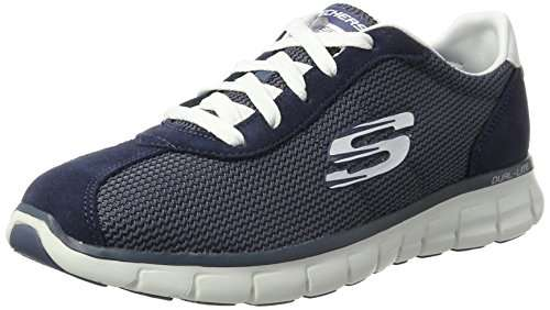 Womens Synergy-Case Closed Trainers Skechers nzzA87kg95
