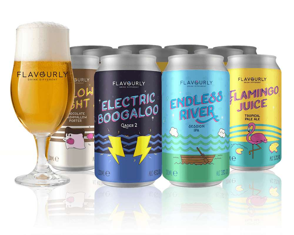 20 Craft beers 70% OFF £19.90 plus FREEBIES @ Flavourly.com (Introductory offer – one per household) - HotUKDeals