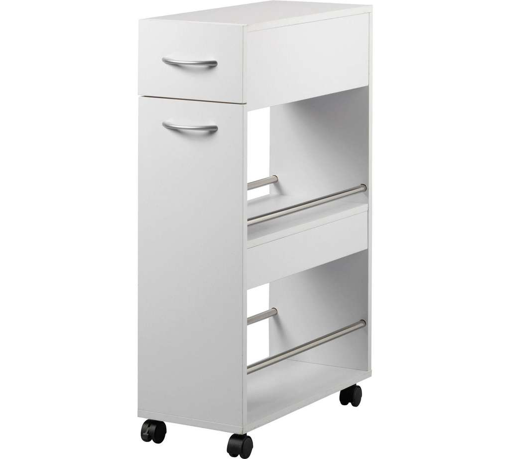 Kitchen Shelf Argos: HOME Slim Kitchen Trolley With Drawer Now £20.99 @ Argos