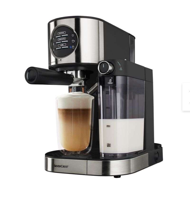 Silvercrest Kitchen Tools Espresso Machine At Lidl Hotukdeals