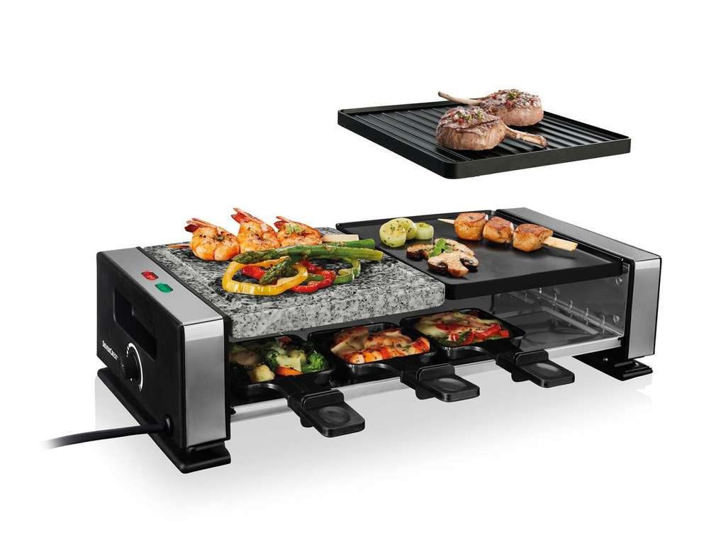 silvercrest kitchen tools raclette grill @ lidl for £24.99 - hotukdeals
