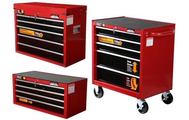 halfords professional tool chest roll cabinet bundle mega. Black Bedroom Furniture Sets. Home Design Ideas