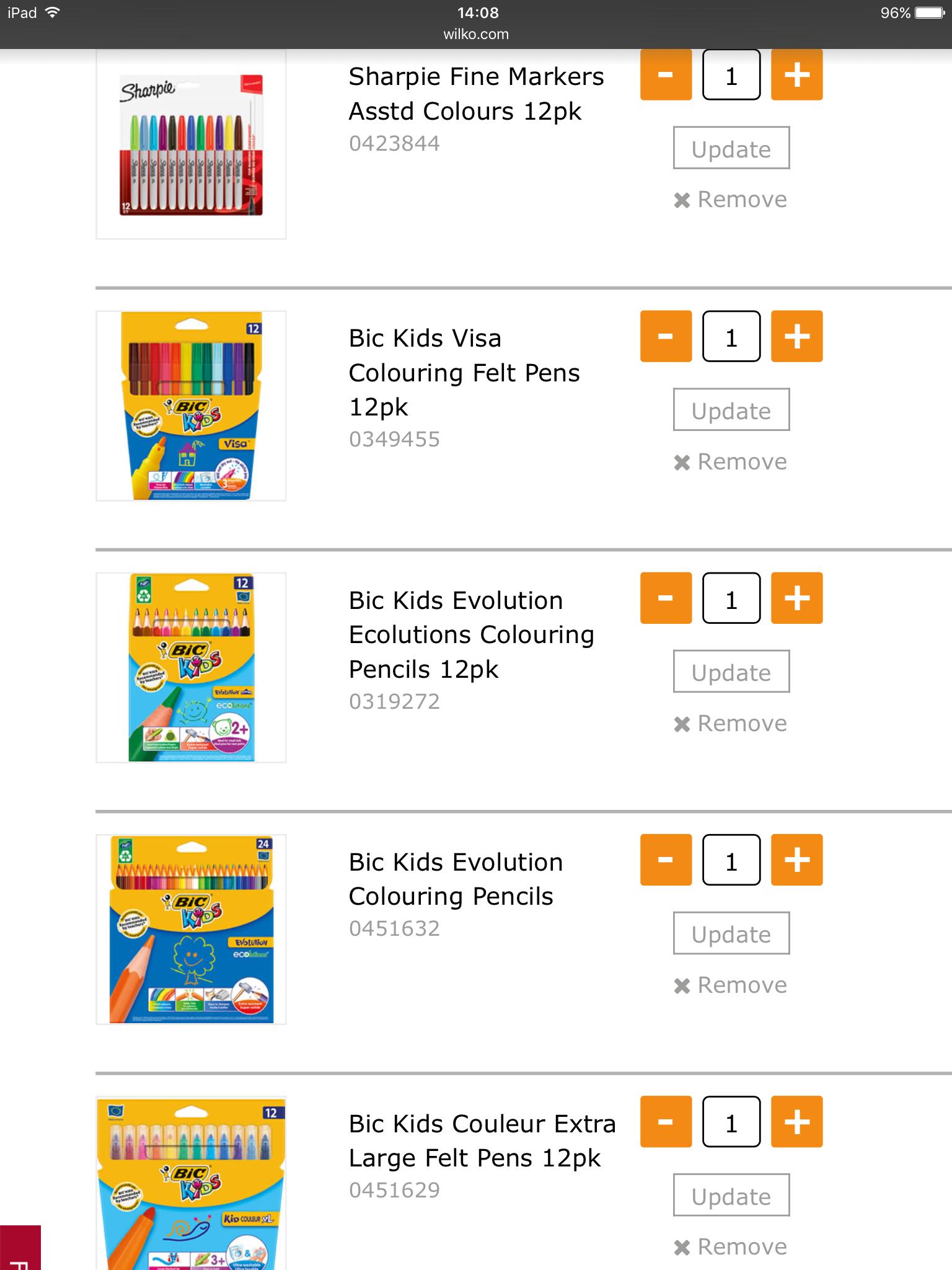 Wilko Mechanical Pencils Assorted Colours 10pk