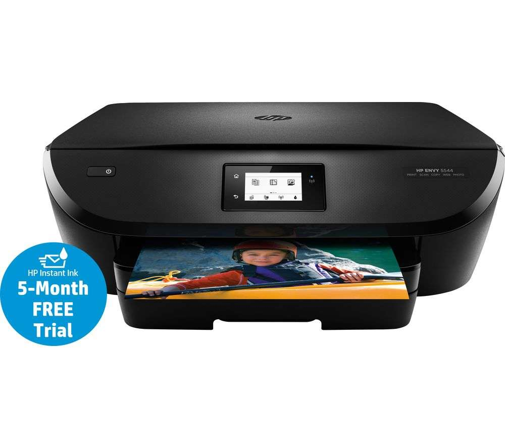 hp envy 5544 all in one wireless inkjet printer 5 months free instant ink 34 currys no. Black Bedroom Furniture Sets. Home Design Ideas