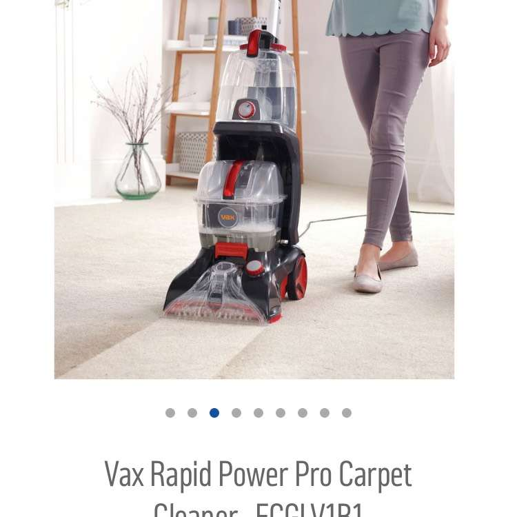 was 300 now 47 off vax rapid power pro carpet cleaner argos hotukdeals. Black Bedroom Furniture Sets. Home Design Ideas