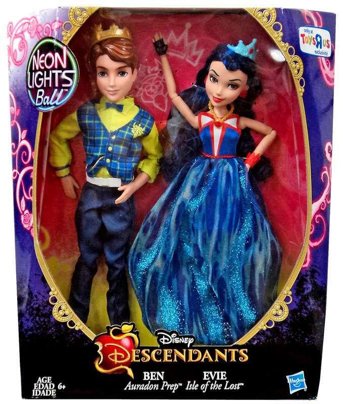 Disney Descendants Neon Lights 2 Pack Evie Isle Of The