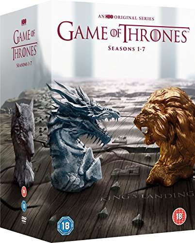 20 off game of thrones season 1 7 box set dvd or blu ray on amazon for hotukdeals. Black Bedroom Furniture Sets. Home Design Ideas
