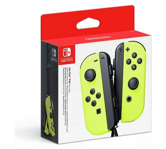 Nintendo Goomba Toys N Joys : Yellow nintendo switch mario star theme joy cons £