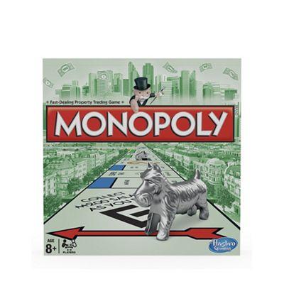 Hasbro Monopoly - £10.50 @ Debenhams - £2 c&c - HotUKDeals