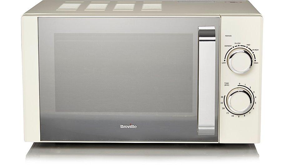 breville 800w cream microwave 40 asda hotukdeals. Black Bedroom Furniture Sets. Home Design Ideas