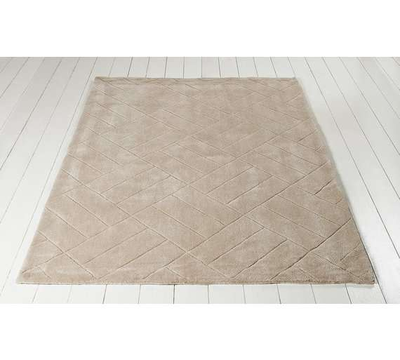Collection Parker Rug 120x170cm Cream Argos 26 99