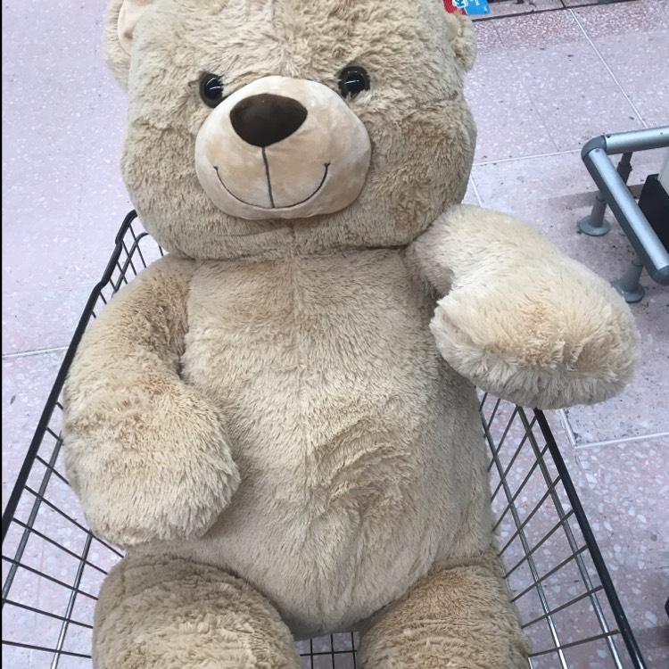 Kid Connection Giant Teddy Bear 130 Cm 163 12 50 Instore