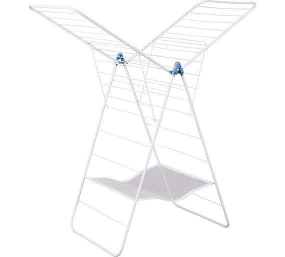 minky xtra wing 24m indoor clothes airer for argos. Black Bedroom Furniture Sets. Home Design Ideas