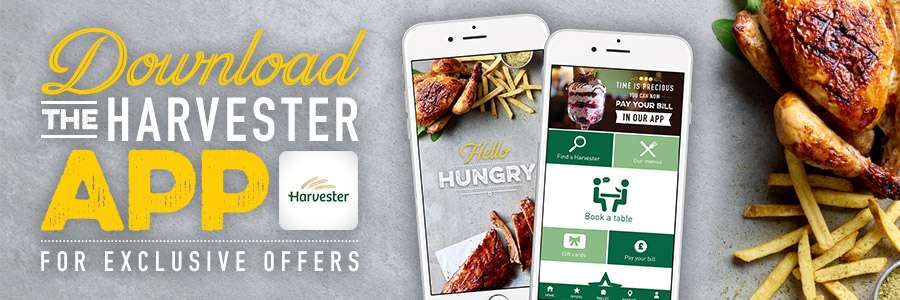 33% Of Main Meals at Harverster - HotUKDeals