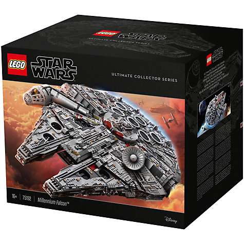 John Lewis - Star Wars LEGO Ultimate Collector Series 75192 ...