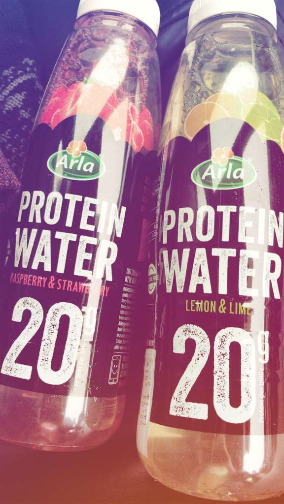 how to make protein water