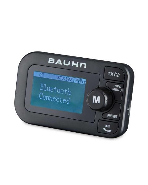 bauhn fm dab car handsfree bluetooth 4 2 transmitter. Black Bedroom Furniture Sets. Home Design Ideas