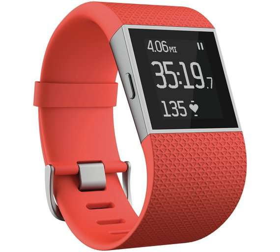 Fitbit Surge Small Smartwatch, small £114.99, large £124.99 @ Argos - HotUKDeals