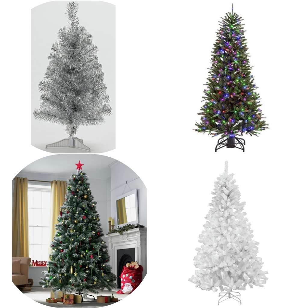 christmas trees less than half price argos starting. Black Bedroom Furniture Sets. Home Design Ideas
