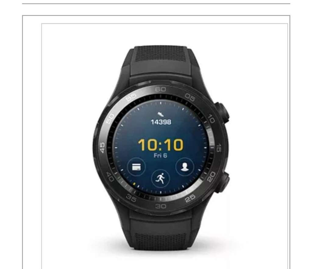 Huawei Watch 2 - Sport Bluetooth at HSamuel for £179.99 - HotUKDeals