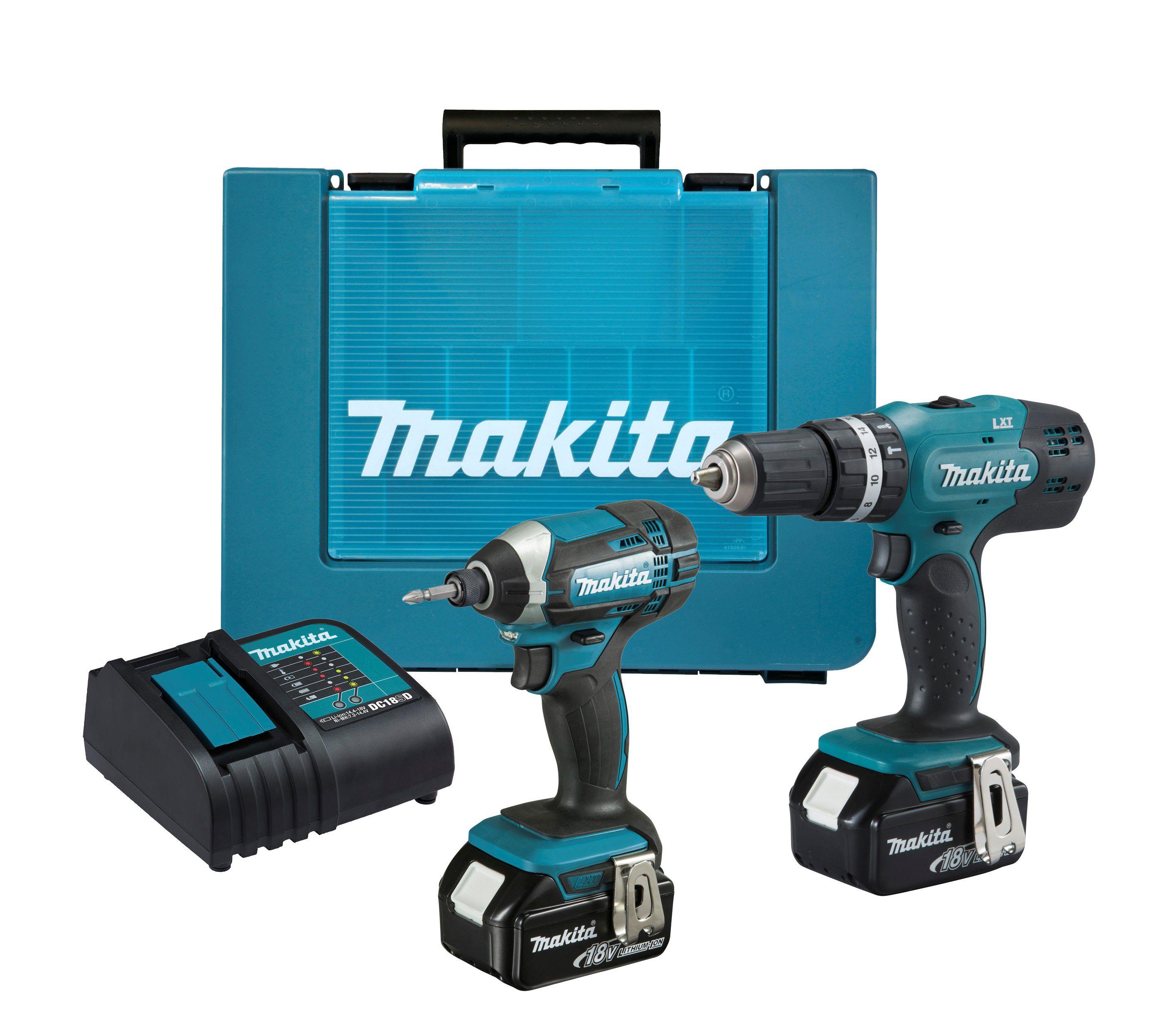 makita drill and impact driver 2 x 4ah 192 including vat. Black Bedroom Furniture Sets. Home Design Ideas
