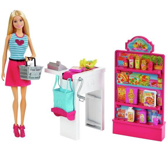 Barbie Malibu Avenue Shops Assortment £7.99 C+C @ Argos - HotUKDeals