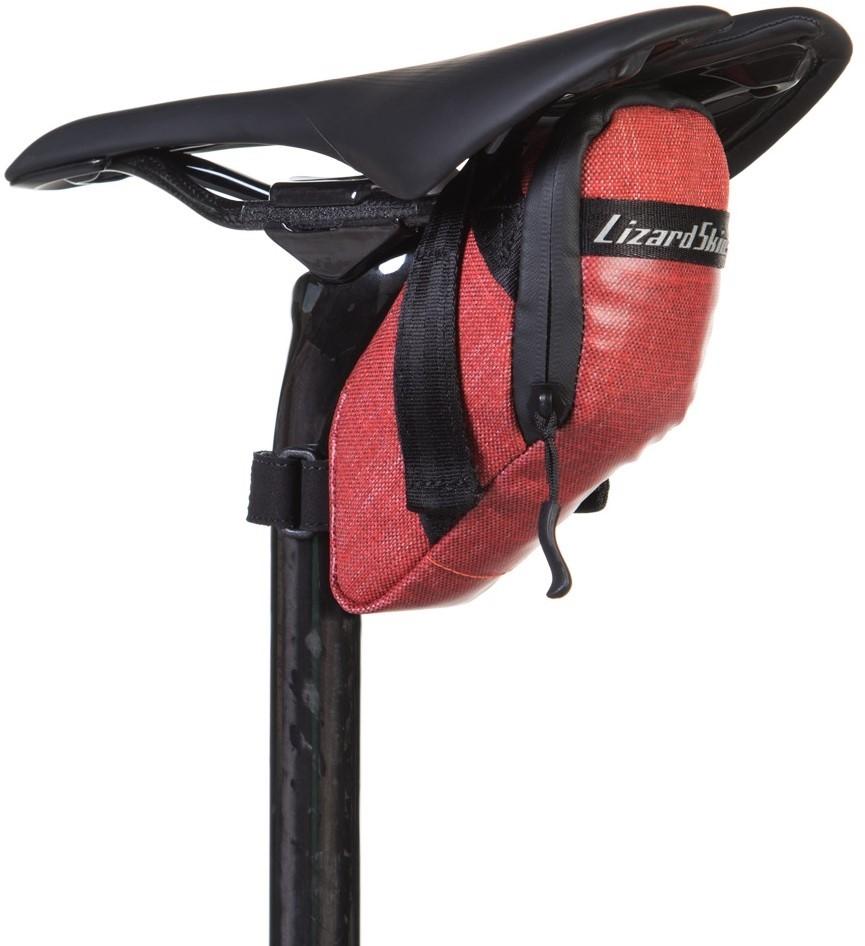 Lizard Skins Cache Saddle Bag - Crimson, £8.27 from Halfords - HotUKDeals