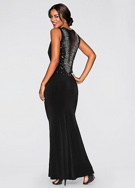 Plunging Evening Dress - £19.99 @ Bon Prix - HotUKDeals