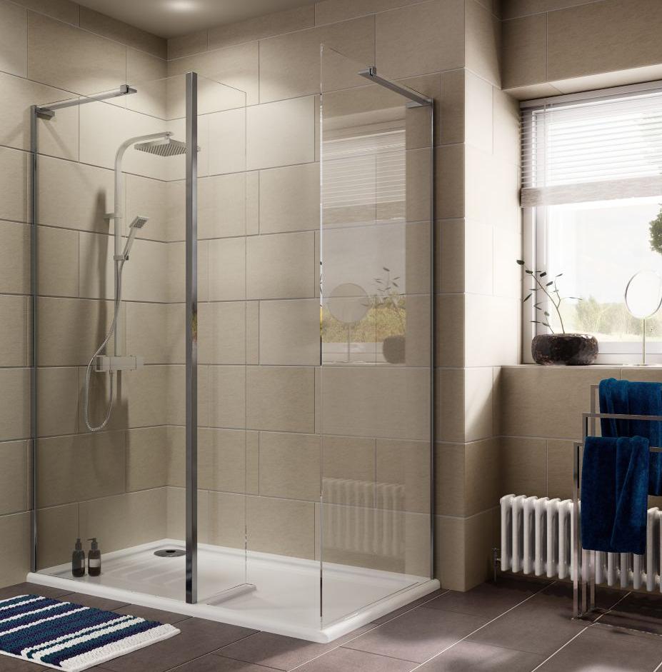 Cooke Lewis Luxuriant Rectangular Shower Enclosure W1400mm D