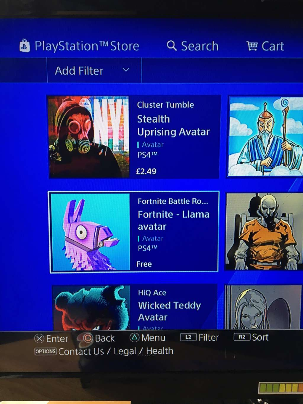 how to get playstation llama avatar