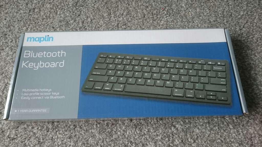 instore @ Maplins Bluetooth Keyboard - £12 - HotUKDeals