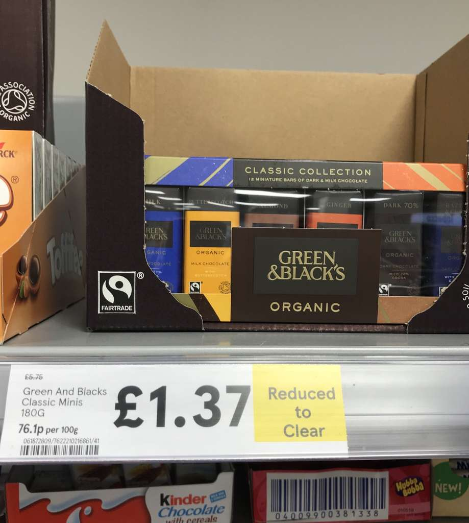 Green and blacks miniature collection 180g was 575 now 137 green and blacks miniature collection 180g was 575 now 137 tesco express hotukdeals fandeluxe Choice Image