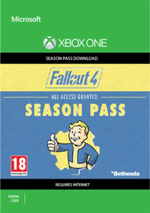 Fallout 4 Season pass Xbox One digital code £1 99 at GAME