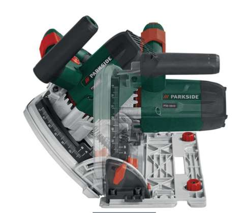 Parkside 1200w Track Plunge Saw With Guide Rail 69 99 Lidl