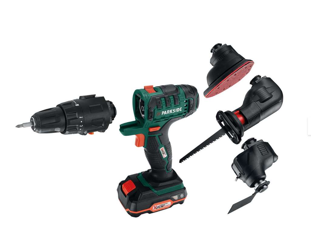 Parkside 20V 4-in-1 Cordless Combination-Tool £59 99 in LIDL