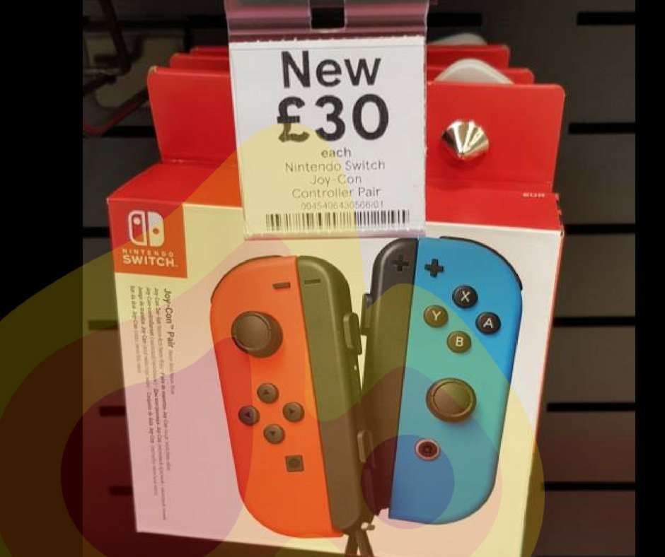Nintendo Switch Joy Con Pair £30 instore @ Tesco Falkirk