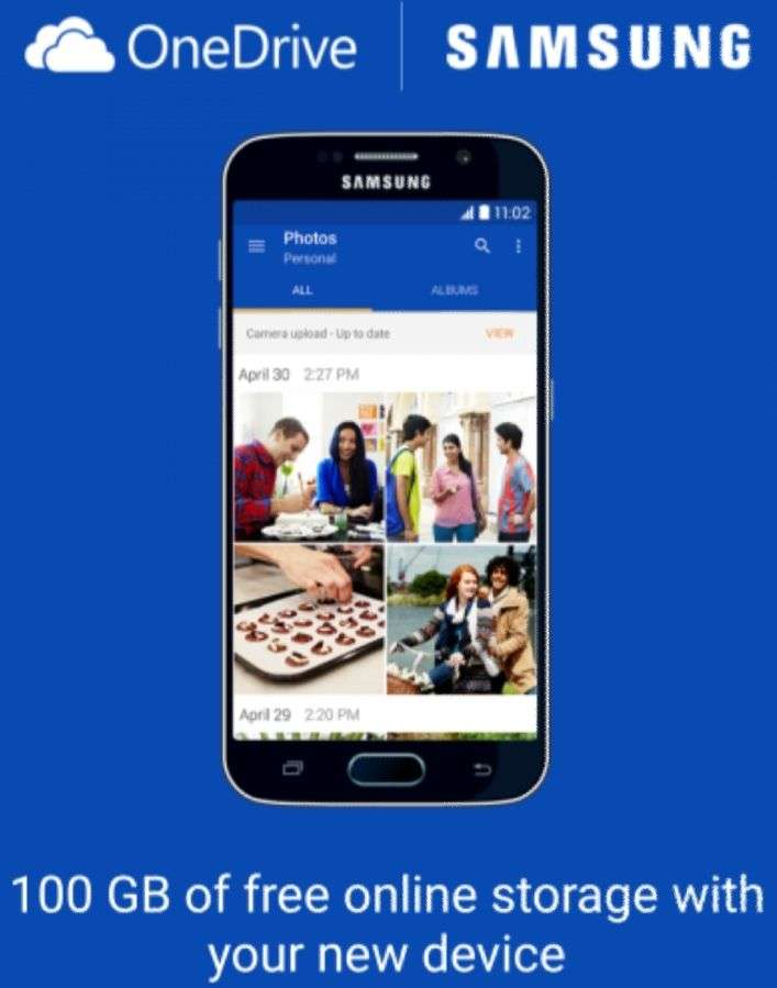 Redeem your free 100GB OneDrive offer  *For Samsung users* - hotukdeals
