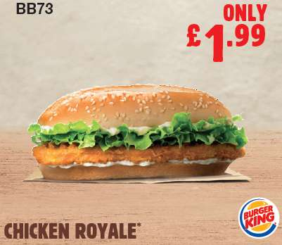 photograph relating to Burger King Printable Application titled Burger King Printable Vouchers - Legitimate Untill 30/09/2018