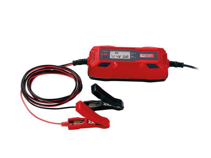 Lidl ultimate speed car motorbike battery charger for Ultimate speed caricabatterie lidl