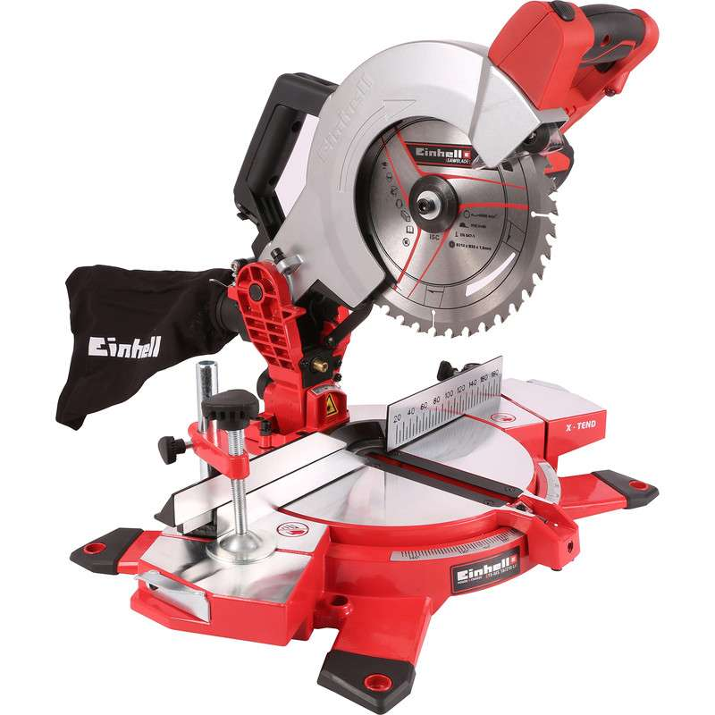 einhell power x change 18v cordless mitre saw w 2 year guarantee delivered. Black Bedroom Furniture Sets. Home Design Ideas