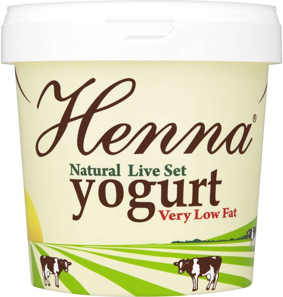 1kg Pakeeza Henna Very Low Fat Natural Live Set Yogurt 80p Tesco