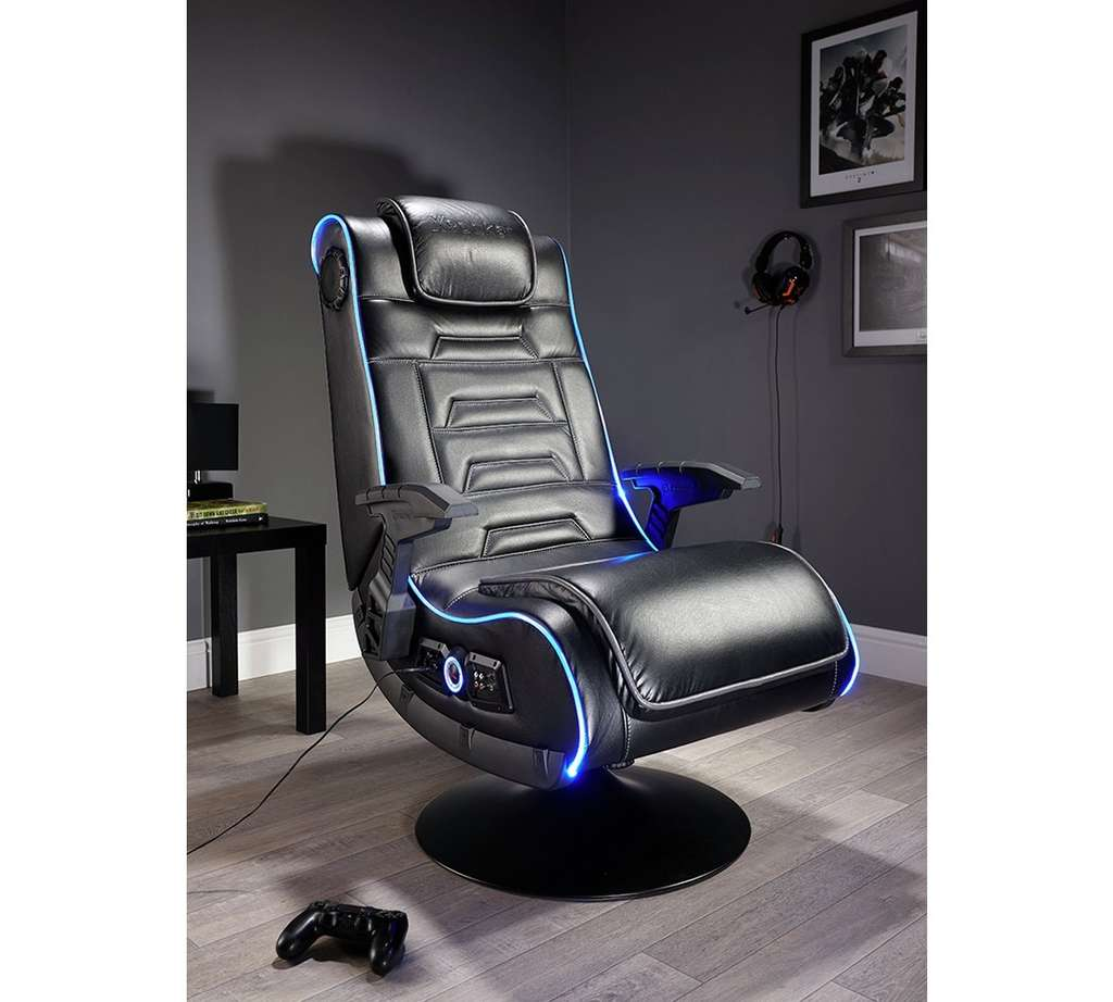 x rocker evo pro led gaming chair argos hotukdeals. Black Bedroom Furniture Sets. Home Design Ideas